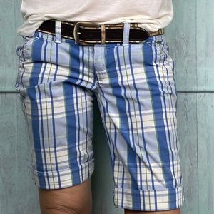 Abercrombie & Fitch checkered cotton shorts Sz. 4